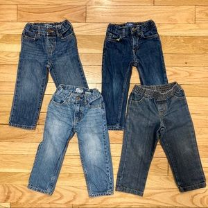 Other - 4 pairs 2T Jeans - assorted brands EUC